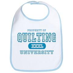Quilting University Bib