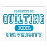 Quilting University Small Poster