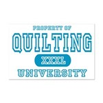Quilting University Mini Poster Print