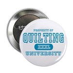 Quilting University Button