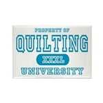 Quilting University Rectangle Magnet