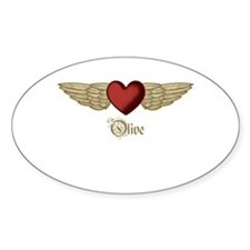 Olive the Angel Decal