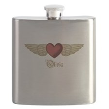 Olivia the Angel Flask