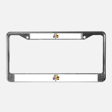 Shamrock of Belgium License Plate Frame