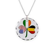 Belgian Shamrock Necklace
