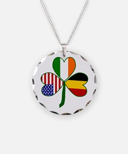 Belgian Shamrock Necklace