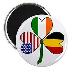 "Belgian Shamrock 2.25"" Magnet (100 pack)"