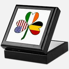 Belgian Shamrock Keepsake Box