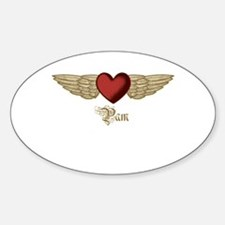 Pam the Angel Decal