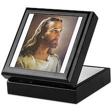 Portrait of Jesus Keepsake Box