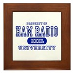 Ham Radio University Framed Tile