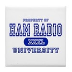 Ham Radio University Tile Coaster