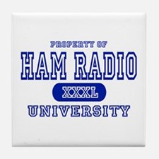Ham Radio University Tile Coaster