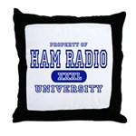 Ham Radio University Throw Pillow