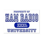 Ham Radio University Mini Poster Print