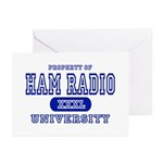 Ham Radio University Greeting Cards (Pk of 10)
