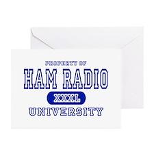 Ham Radio University Greeting Cards (Pk of 10)