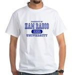 Ham Radio University White T-Shirt