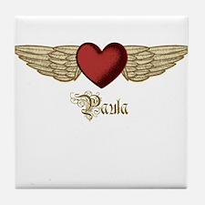 Paula the Angel Tile Coaster