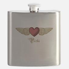Paula the Angel Flask