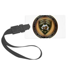 Wyoming HP logo Luggage Tag