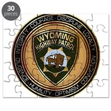 Wyoming HP logo Puzzle