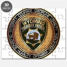 Wyoming HP logo Puzzle