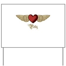 Polly the Angel Yard Sign