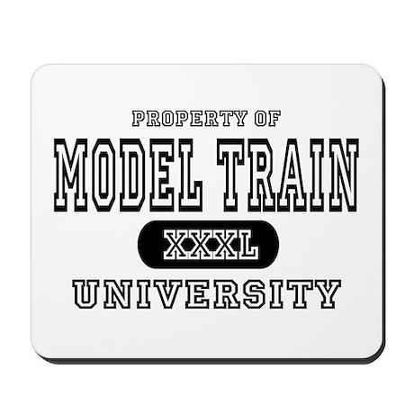 Model Train University Mousepad