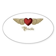 Priscilla the Angel Decal