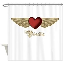 Priscilla the Angel Shower Curtain