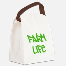 Cute Farms Canvas Lunch Bag