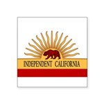 Independent California Rec Sticker