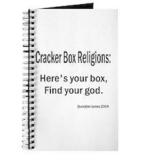 Cracker Box Religion Journal