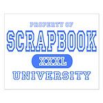 Scrapbook University Small Poster