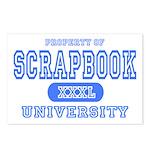 Scrapbook University Postcards (Package of 8)