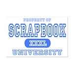 Scrapbook University Mini Poster Print
