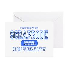 Scrapbook University Greeting Cards (Pk of 10)
