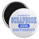 Scrapbook University Magnet