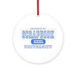Scrapbook University Ornament (Round)