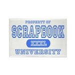 Scrapbook University Rectangle Magnet (10 pack)