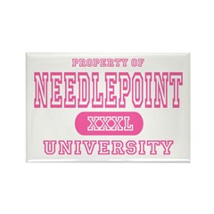Needlepoint University Rectangle Magnet (10 pack)