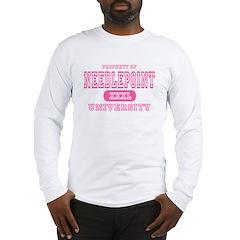 Needlepoint University Long Sleeve T-Shirt