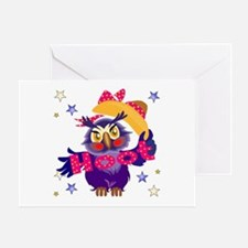 Hoot Owl Greeting Card