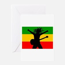 Bob Flag Greeting Card