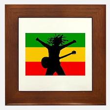 Bob Flag Framed Tile