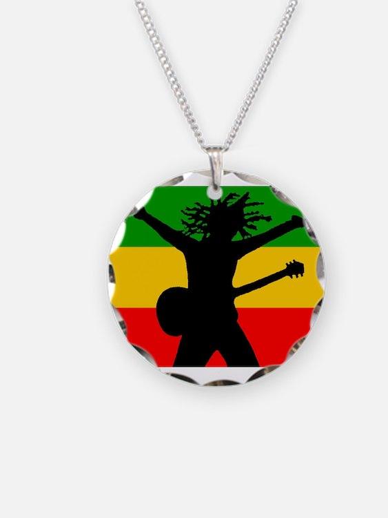 Bob Flag Necklace