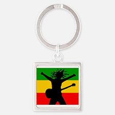 Bob Flag Square Keychain