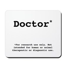 Research Use Only Mousepad