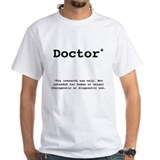 Phd Mens White T-shirts